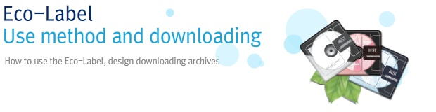 Eco-Label use method and downloading, How to use the Eco-Label, design downloading archives
